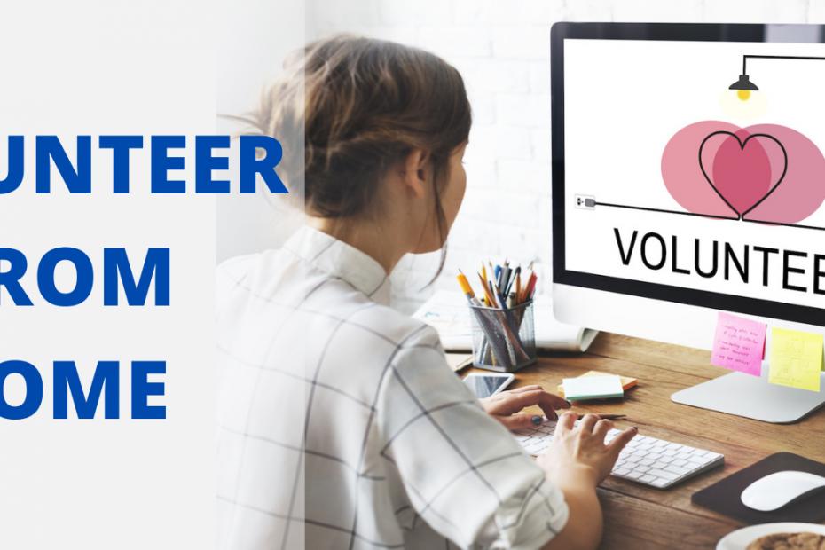 Volunteering from Home
