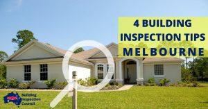 4 BUILDING INSPECTION TIPS MELBOURNE