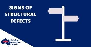 SIGNS OF STRUCTURAL DEFECTS